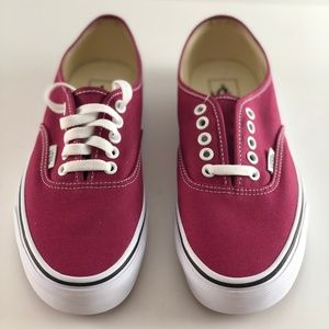 NWT Vans Authentic Dry Rose/True White Skate Shoes
